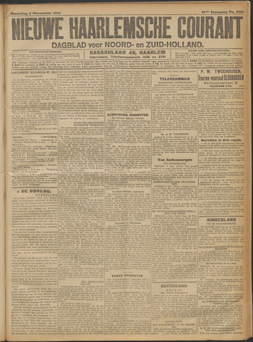 Nieuwe Haarlemsche Courant 1916-11-06