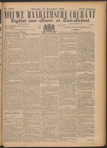 Nieuwe Haarlemsche Courant 1902-12-13