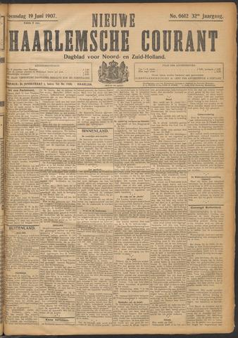 Nieuwe Haarlemsche Courant 1907-06-19