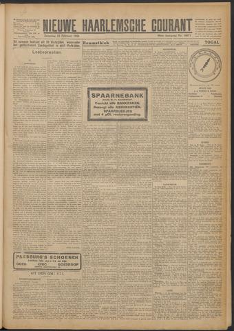 Nieuwe Haarlemsche Courant 1924-02-23