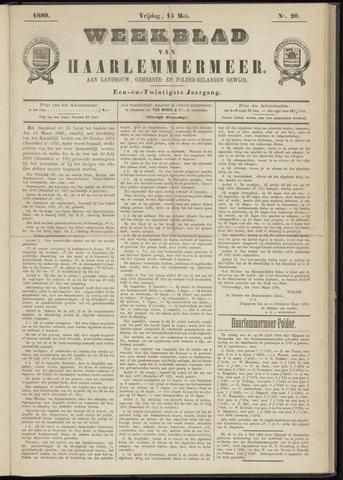 Weekblad van Haarlemmermeer 1880-05-14