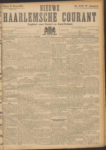 Nieuwe Haarlemsche Courant 1907-03-29