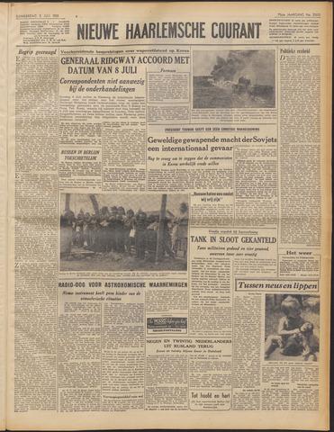 Nieuwe Haarlemsche Courant 1951-07-05