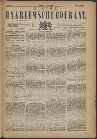 Nieuwe Haarlemsche Courant 1893-06-11