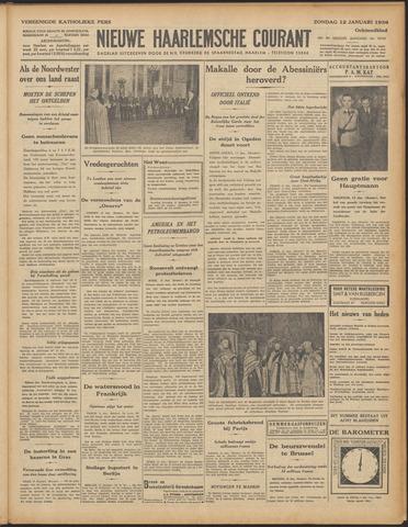 Nieuwe Haarlemsche Courant 1936-01-12