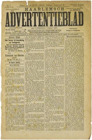 Haarlemsch Advertentieblad 1898-01-01