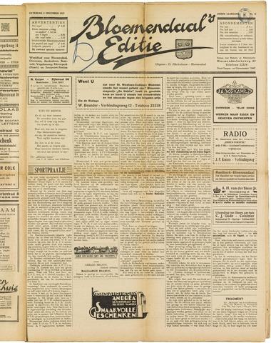 Bloemendaal's Editie 1927-12-03