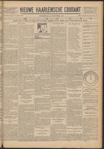 Nieuwe Haarlemsche Courant 1931-11-26