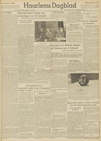 Haarlem's Dagblad 1947-02-01