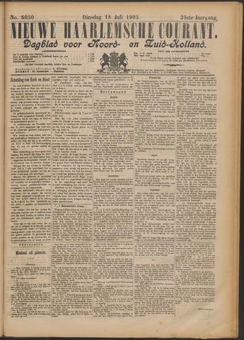 Nieuwe Haarlemsche Courant 1905-07-18