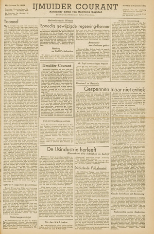 IJmuider Courant 1945-09-22