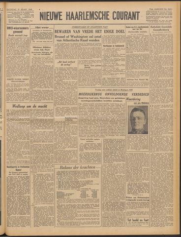 Nieuwe Haarlemsche Courant 1949-03-19
