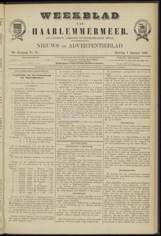 Weekblad van Haarlemmermeer 1885-08-08