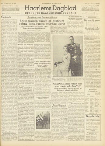 Haarlem's Dagblad 1954-04-15