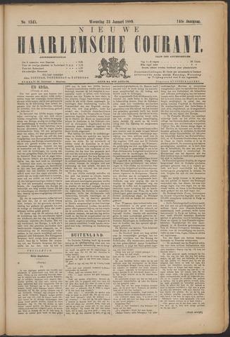 Nieuwe Haarlemsche Courant 1889-01-23
