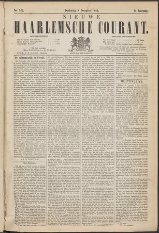 Nieuwe Haarlemsche Courant 1881-12-08