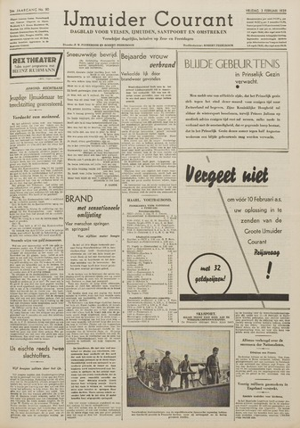 IJmuider Courant 1939-02-03