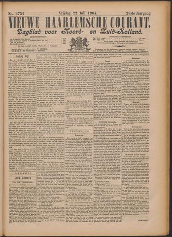 Nieuwe Haarlemsche Courant 1904-07-22