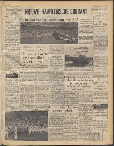 Nieuwe Haarlemsche Courant 1957-09-12
