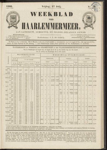 Weekblad van Haarlemmermeer 1860-07-27