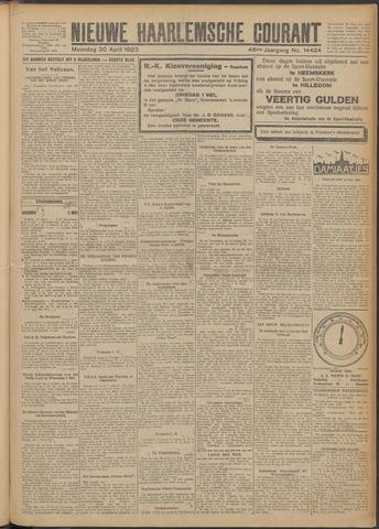 Nieuwe Haarlemsche Courant 1923-04-30