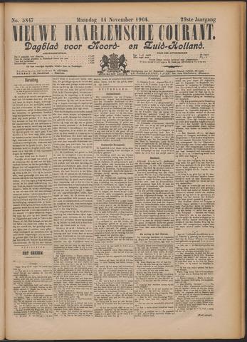 Nieuwe Haarlemsche Courant 1904-11-14