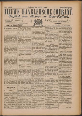 Nieuwe Haarlemsche Courant 1904-06-24