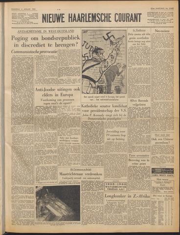 Nieuwe Haarlemsche Courant 1960-01-04