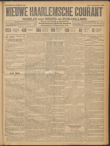 Nieuwe Haarlemsche Courant 1914-02-18