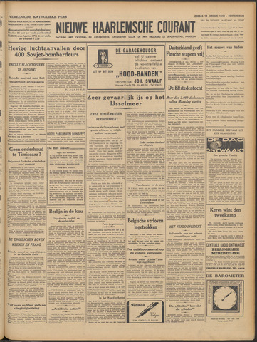 Nieuwe Haarlemsche Courant 1940-01-14