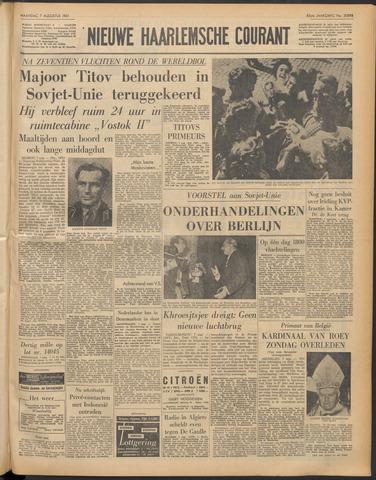 Nieuwe Haarlemsche Courant 1961-08-07