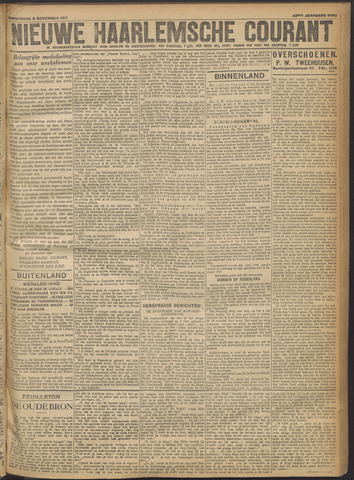 Nieuwe Haarlemsche Courant 1917-11-08
