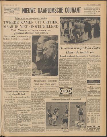 Nieuwe Haarlemsche Courant 1959-05-28