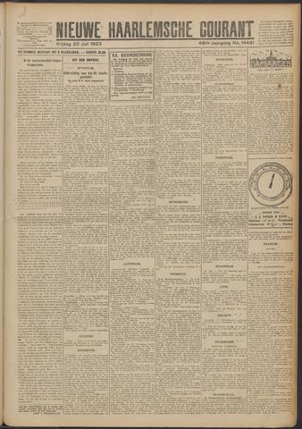 Nieuwe Haarlemsche Courant 1923-07-20