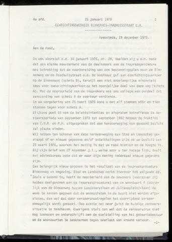 Raadsnotulen Heemstede 1979-01-25