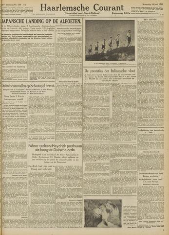 Haarlemsche Courant 1942-06-10