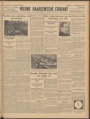 Nieuwe Haarlemsche Courant 1935-09-17