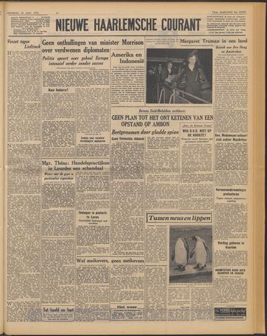 Nieuwe Haarlemsche Courant 1951-06-12