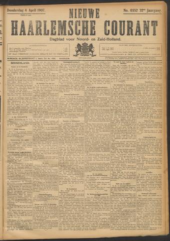 Nieuwe Haarlemsche Courant 1907-04-04