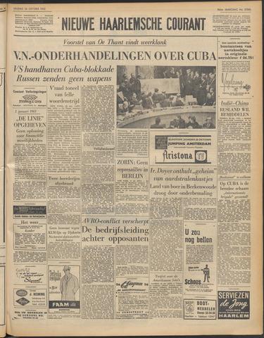 Nieuwe Haarlemsche Courant 1962-10-26