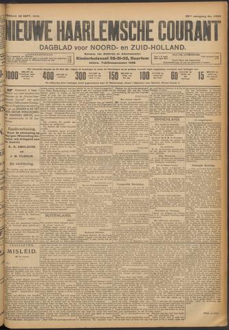Nieuwe Haarlemsche Courant 1908-09-22
