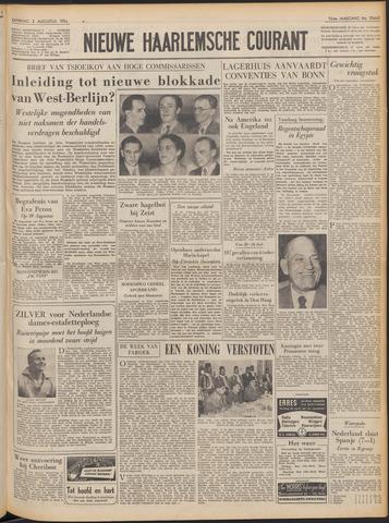 Nieuwe Haarlemsche Courant 1952-08-02