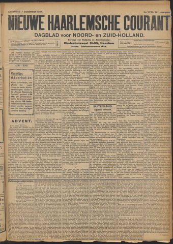 Nieuwe Haarlemsche Courant 1907-12-07