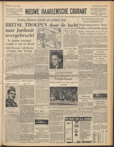 Nieuwe Haarlemsche Courant 1958-07-17