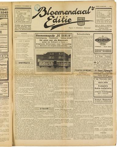 Bloemendaal's Editie 1927-11-05