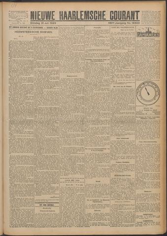 Nieuwe Haarlemsche Courant 1923-07-31