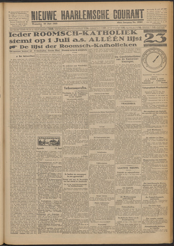 Nieuwe Haarlemsche Courant 1925-06-10