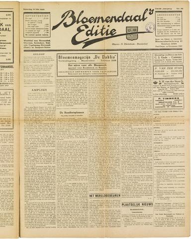 Bloemendaal's Editie 1928-05-19