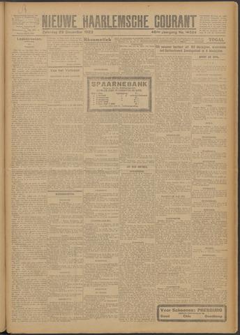 Nieuwe Haarlemsche Courant 1923-12-29