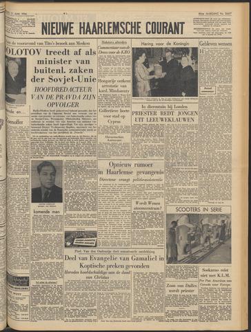 Nieuwe Haarlemsche Courant 1956-06-02